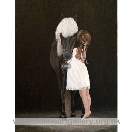 Child and Pony